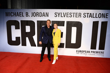 Greta Lundgren 'Creed II' European Premiere - Red Carpet Arrivals
