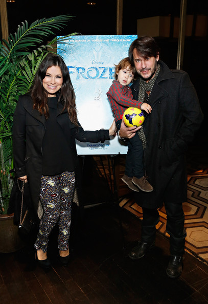 """The Cinema Society Hosts A Special Screening Of Walt Disney Animation Studios' """"Frozen"""" At The Tribeca Grand Hotel In New York [frozen,social group,youth,fashion,event,fun,smile,performance,art,gretta monahan,ricky paull goldin,kai rei goldin,tribeca grand hotel,new york,cinema society hosts a special screening of walt disney animation studios,the cinema society,screening]"""