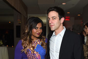 BFFs Mindy Kaling and B.J. Novak always party together. - The Best After-Party Pics from the 2015 Oscars