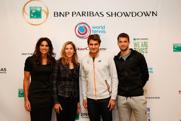 Grigor+Dimitrov+World+Tennis+Day+Welcome