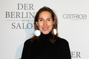 Annette Weber attends the group presentation during the Der Berliner Mode Salon A/W 2017 at Kronprinzenpalais on January 18, 2017 in Berlin, Germany.