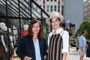 (L-R) Tanja Muehlhans and Marie Nasemann attend the GrowHouses Reception during the Berlin Fashion Week Spring/Summer 2020 at ewerk on July 02, 2019 in Berlin, Germany.