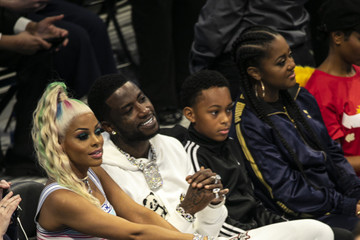 Gucci Mane Celebrities Attend The 68th NBA All-Star Game - Inside