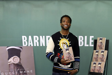 Gucci Mane Gucci Mane Signs Copies of His New Book 'The Autobiography of Gucci Mane'