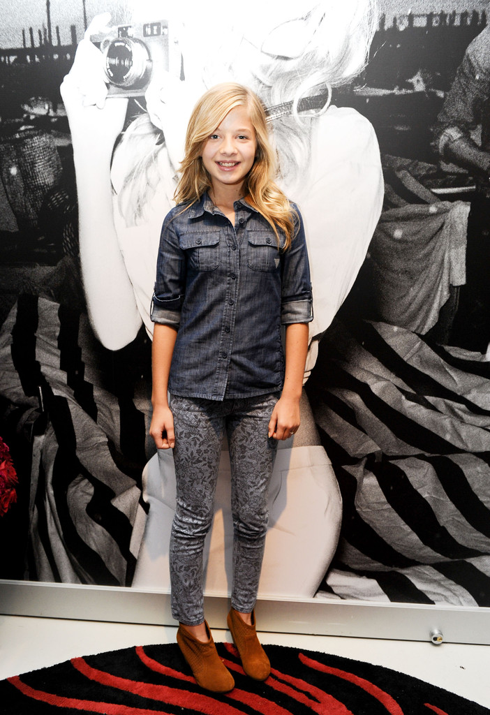 jackie evancho in guess portrait studio day 4 2012