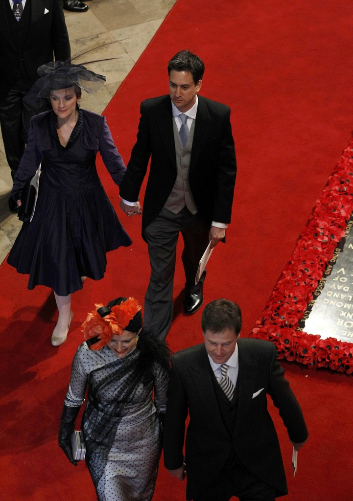 nick clegg and miriam gonzalez durantez photos photos