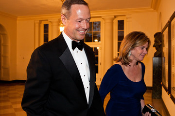 Katie O'Malley Guests Arrive For White House State Dinner For UK Prime Minister Cameron