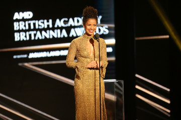 Gugu Mbatha-Raw 2016 AMD British Academy Britannia Awards Presented by Jaguar Land Rover and American Airlines - Show