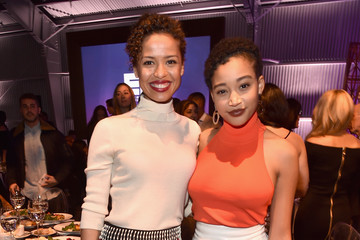 Gugu Mbatha-Raw The Hollywood Reporter's 2017 Women in Entertainment Breakfast - Inside