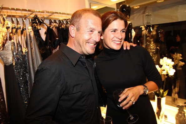 marie jeanette ferch in guido maria kretschmer shop opening zimbio. Black Bedroom Furniture Sets. Home Design Ideas