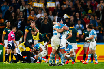 Guido Petti Pagadizabal South Africa v Argentina - Bronze Final: Rugby World Cup 2015