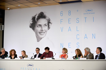 Guilia Lazzarini 'Mia Madre' Press Conference - The 68th Annual Cannes Film Festival