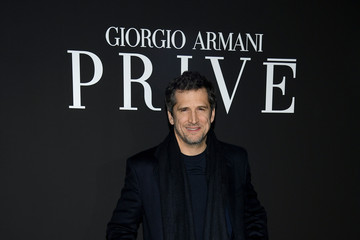 Guillaume Canet Giorgio Armani Prive: Outside Arrivals - Paris Fashion Week - Haute Couture Spring/Summer 2020