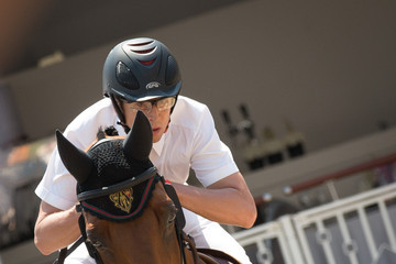 Guillaume Canet International Monte-Carlo Jumping Day 3