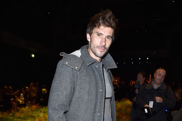 Guillaume Nery Moncler Gamme Rouge : Front Row - Paris Fashion Week Womenswear Spring/Summer 2016