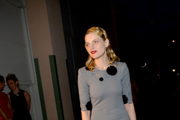 Guinevere Van Seenus MOCA's 35th Anniversary Gala Presented By Louis Vuitton At The Geffen Contemporary At MOCA - Cocktails/Exhibition