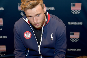 Gus Kenworthy Team USA Media Summit
