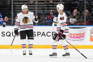 Gustav Forsling Chicago Blackhawks v New York Rangers