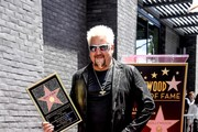 Chef Guy Fieri who was honored with the 2,664th Star on the Hollywood Walk of Fame Star, in Hollywood, California.