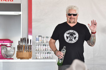 Guy Fieri Goya Foods' Grand Tasting Village Featuring Mastercard Grand Tasting Tents & KitchenAid Culinary Demonstrations - Day 1
