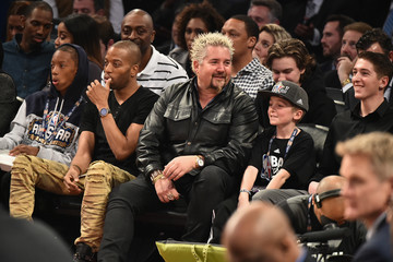Guy Fieri Celebrities Attend The 66th NBA All-Star Game