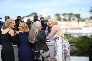 Gwendoline Christie Top Of The Lake: China Girl' Photocall at the 70th Annual Cannes Film Festival