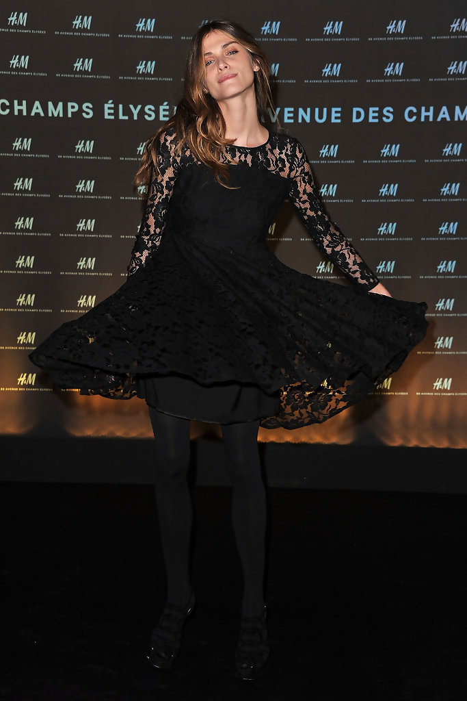 Elisa sednaoui photos photos 39 h m champs elysees 39 designed by j - H m paris champs elysees ...
