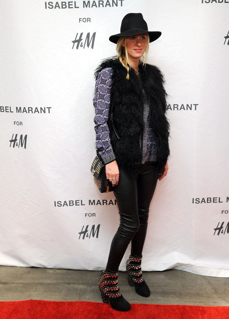 Nicky Hilton attends H&M Isabel Marant VIP Pre-Shopping Event at H&M Fifth Avenue on November 12, 2013 in New York City.