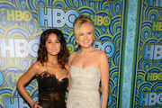 Actresses Emmanuelle Chriqui and Malin Akerman attend HBO's Annual Primetime Emmy Awards Post Award Reception at The Plaza at the Pacific Design Center on September 22, 2013 in Los Angeles, California.