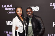 Gabrielle Dennis (L) and Lil Rel Howery attend HBO's Lil Rel Comedy Special Screening, Panel and Reception at NeueHouse Hollywood on November 21, 2019 in Los Angeles, California.