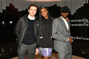 """(L-R) Actors Nick Robinson, Kiki Layne and Ashton Sanders attend the afterparty for HBO's """"Native Son"""" screening at Guggenheim Museum on April 1, 2019 in New York City."""