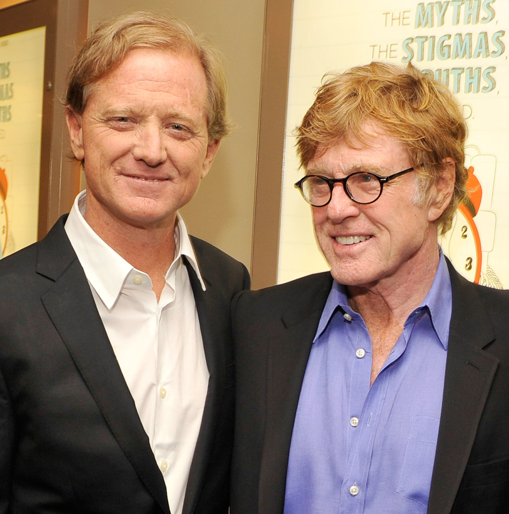 Robert Redford and James Redford Photos Photos - HBO's New ...