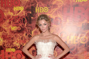 Actress Lili Simmons attends HBO's Official 2015 Emmy After Party at The Plaza at the Pacific Design Center on September 20, 2015 in Los Angeles, California.