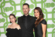 (L-R) Zoe Lister-Jones, Colin Hanks and Angelique Cabral attend HBO's Official Golden Globe Awards After Party at Circa 55 Restaurant on January 6, 2019 in Los Angeles, California.