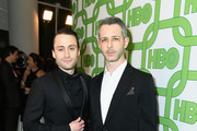 Kieran Culkin (L) and Jeremy Strong attend HBO's Official Golden Globe Awards After Party at Circa 55 Restaurant on January 6, 2019 in Los Angeles, California.