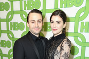 Kieran Culkin (L) and Jazz Charton attend HBO's Official Golden Globe Awards After Party at Circa 55 Restaurant on January 6, 2019 in Los Angeles, California.