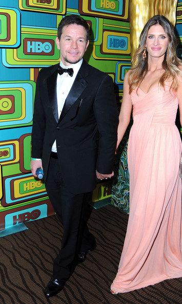 Actors Mark Wahlberg and Rhea Durham attend HBO's Post 2011 Golden Globe Awards Party held at The Beverly Hilton hotel on January 16, 2011 in Beverly Hills, California.