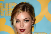 Actress Lili Simmons attends HBO's Post 2015 Golden Globe Awards Party at Circa 55 Restaurant on January 11, 2015 in Los Angeles, California.