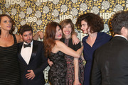 Kathryn Hahn, Carrie Brownstein, Gaby Hoffmann and the cast of 'Transparent' attend HBO's Post 2016 Golden Globe Awards Party at Circa 55 Restaurant on January 10, 2016 in Los Angeles, California.