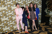 Jill Soloway, Gaby Hoffmann, Carrie Brownstein and the cast of 'Transparent'attends HBO's Post 2016 Golden Globe Awards Party at Circa 55 Restaurant on January 10, 2016 in Los Angeles, California.