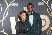 Amatus Sami-Karim and Mahershala Ali attend the HBO's Post Emmy Awards Reception at The Plaza at the Pacific Design Center on September 22, 2019 in Los Angeles, California.