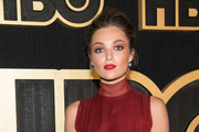 Lili Simmons arrives at HBO's Post Emmy Awards Reception at the Plaza at the Pacific Design Center on September 17, 2018 in Los Angeles, California.