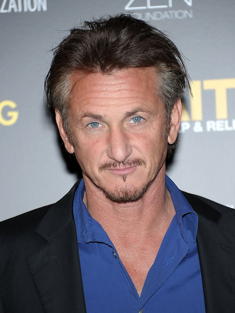 Sean Penn in HELP HAIT...