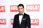 Actor Miguel Angel Silvestre attends the HOLA! USA launch hosted by Alec & Hilaria Baldwin at Porcelanosa on September 29, 2016 in New York City.