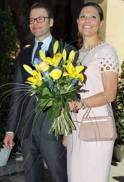 HRH Crown Princess Victoria Of Sweden And Prince Daniel On Germany Visit - Day 1