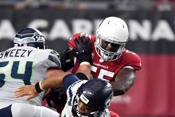Haason Reddick Seattle Seahawks vs. Arizona Cardinals