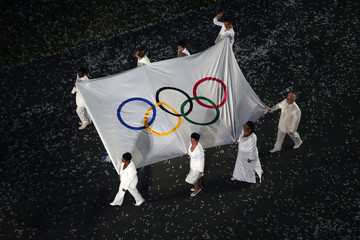 Haile Gebrselassie 2012 Olympic Games - Opening Ceremony