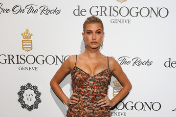 Hailey Baldwin DeGrisogono 'Love on the Rocks' Party at the 70th Annual Cannes Film Festival