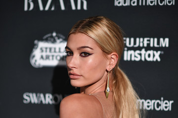 Hailey Rhode Baldwin Harper's BAZAAR Celebrates 'ICONS By Carine Roitfeld' At The Plaza Hotel Presented By Infor, Laura Mercier, Stella Artois, FUJIFILM And SWAROVSKI - Red Carpet