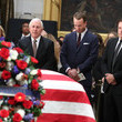 Hale Irwin President George H.W. Bush Lies In State At US Capitol